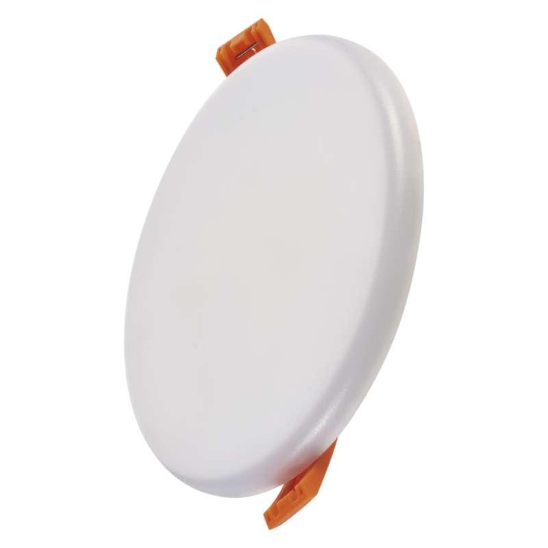 LED panel 125mm, kruhový vestavný bílý, 11 W teplá bílá
