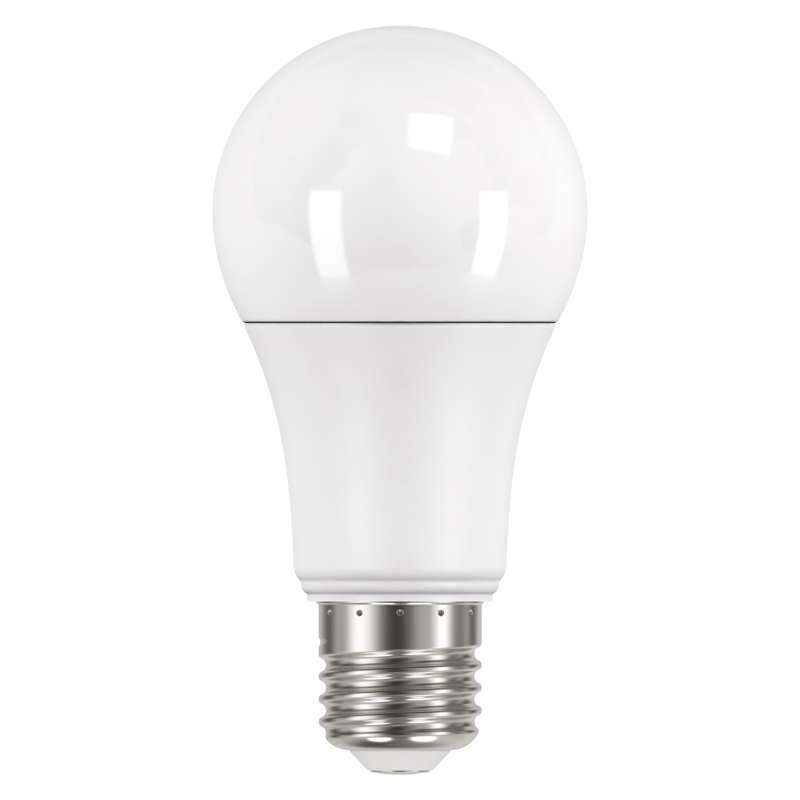 LED žárovka s pohybovým senzorem Classic A60 9W E27 teplá b.
