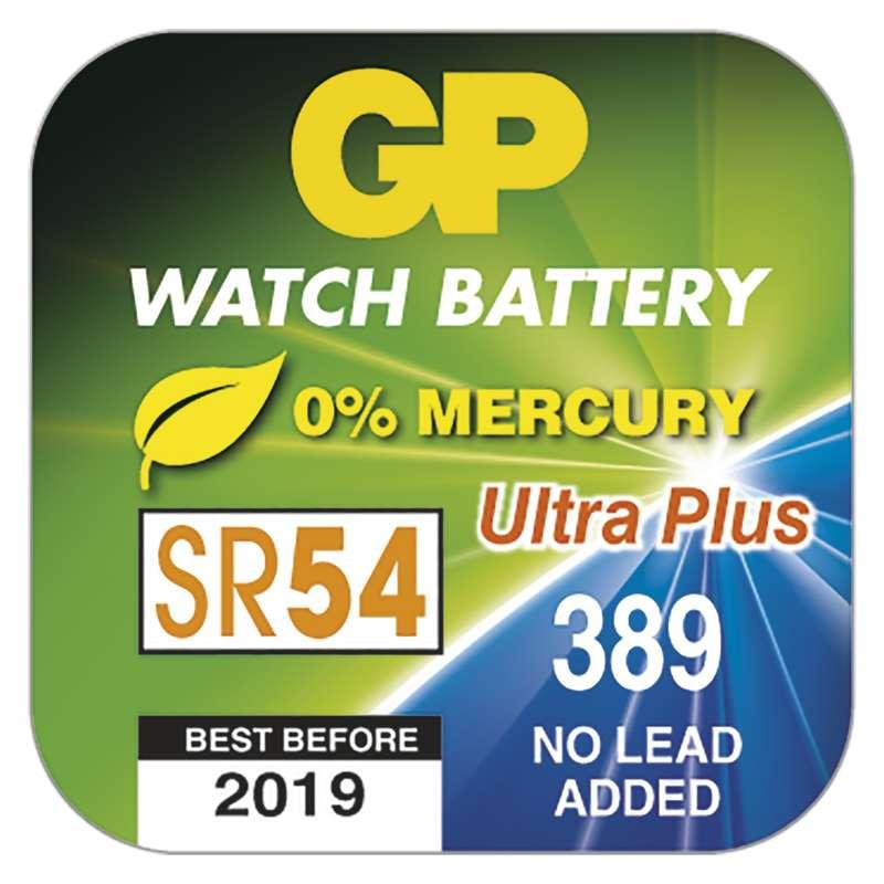Knoflíková baterie do hodinek GP 389F, krabička