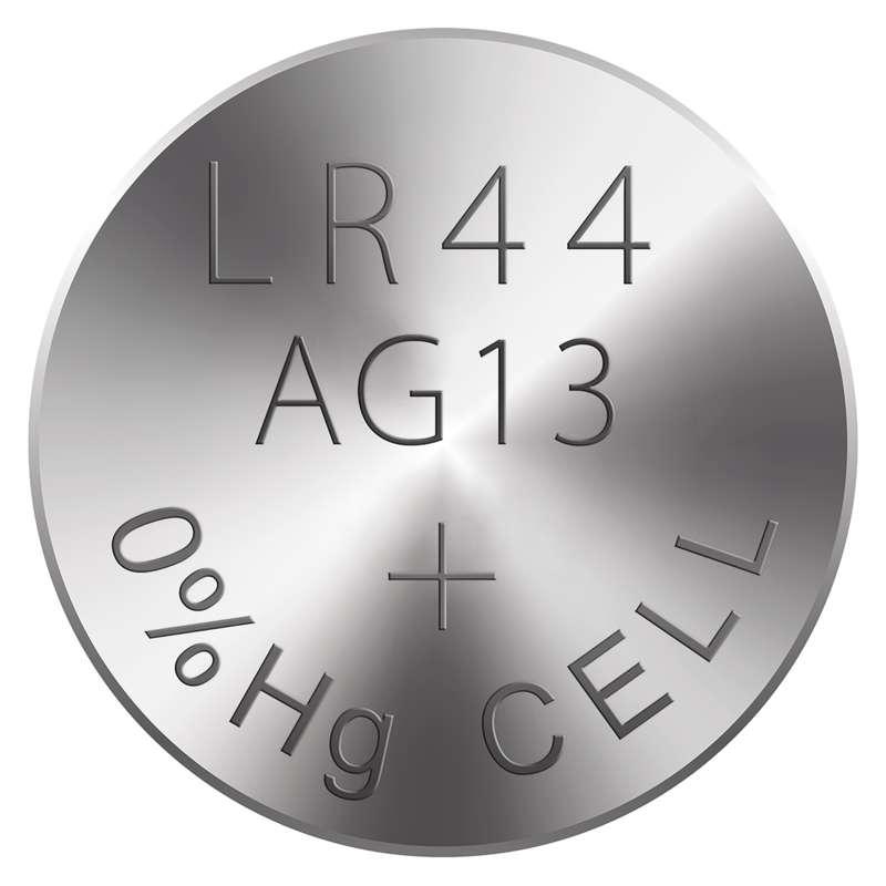 Alkalická knoflíková baterie RAVER LR44 (A76), blistr