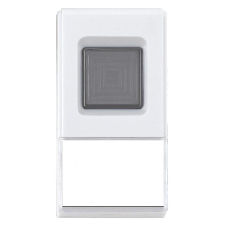 Solight bezdrátové tlačítko pro zvonky Solight 1L08, 1L35, 1L35B, 1L41, 1L41B, 1L46, 1L47, 1L56, 1L56DZ, 1L56B, 1L56BDZ, 1L57, dosah 120m