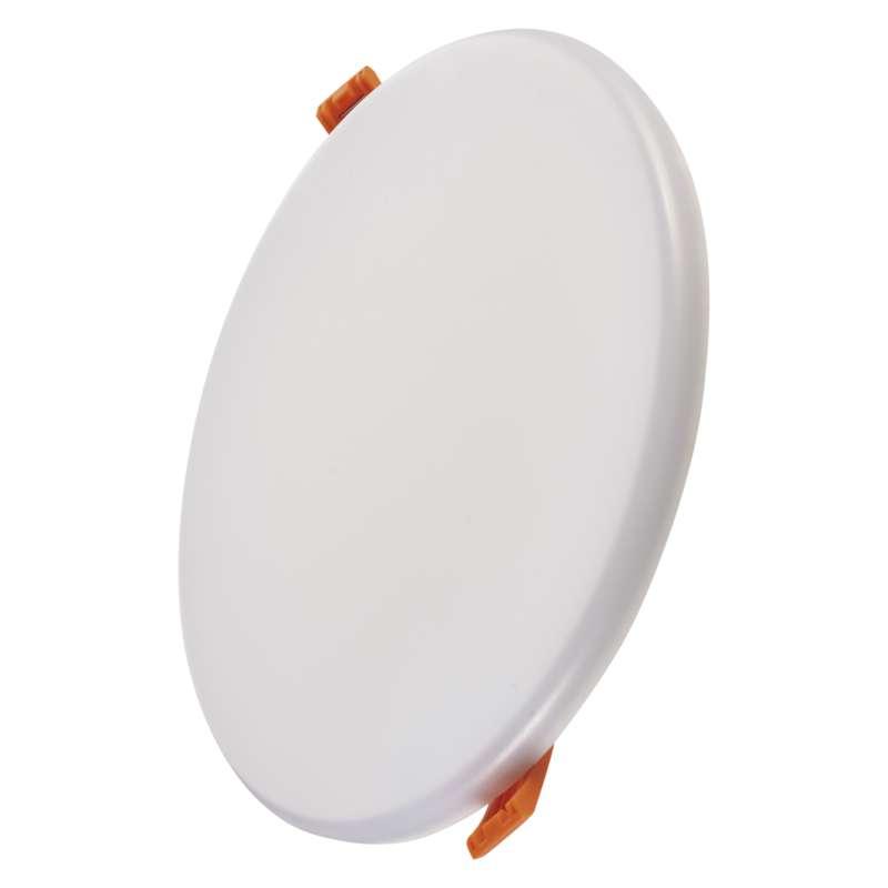 LED panel 185mm, kruhový vestavný bílý, 18W neutrální bílá