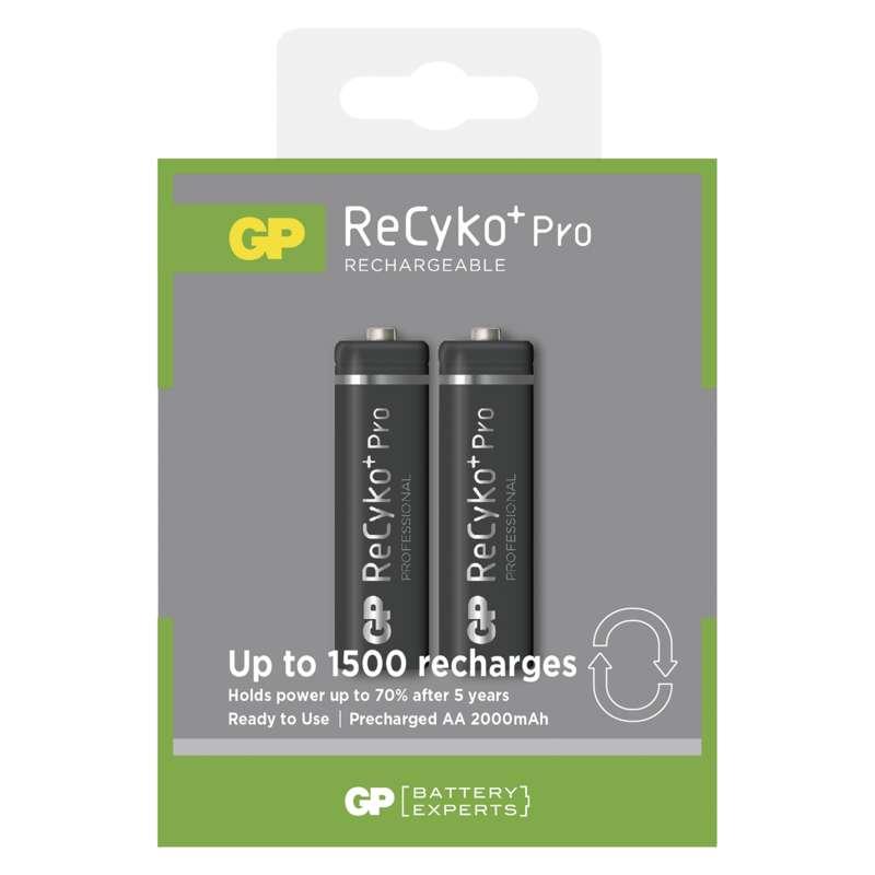 Nabíjecí baterie GP ReCyko+ Pro Prof. 2000 mAh (AA)