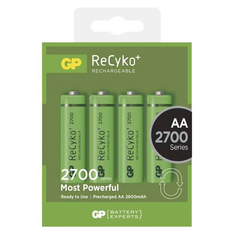 Nabíjecí baterie GP ReCyko+ 2700 mAh (AA)
