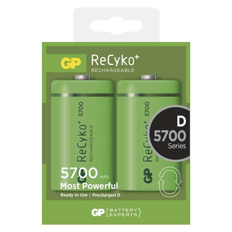 Nabíjecí baterie GP ReCyko+ 5700 mAh (D)